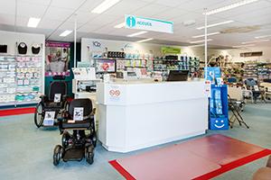 accueil équipe professionnels conseiller vente et location matériel médical bastide besançon